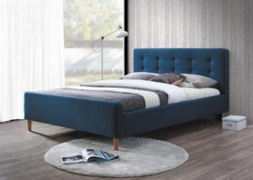 Miegamojo lova Pinko 160 mėlyna Miegamojo lovos