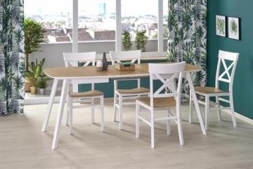 Valgomojo stalas KAJETAN 135/185 Wooden dining tables