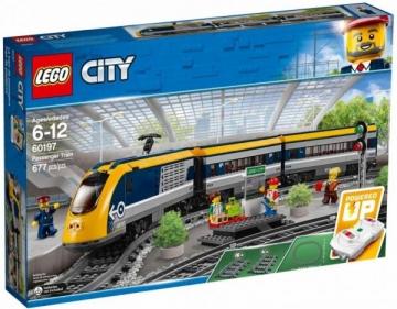 Konstruktorius LEGO 60197 Passenger Train E0722 Lego un citas konstruktors