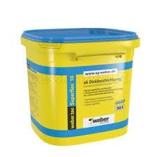 Mastika hidroizoliacinė pamatams tec915 (+5 C) Damp proofing blends