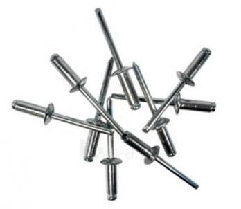 Rivet 3.2x8.0 Al/Pl 50vnt Rivet aluminum (bags)