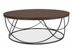 Svetainės staliukas SEPIA I 80x80 Svetainės staliukai