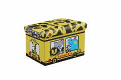 Dėžė žaislams-pufas Kiri. Žaislų dėžės