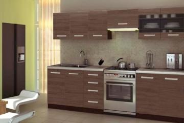 Virtuvės komplektas AMANDA 1-260 cm. Virtuves mēbeļu komplekti