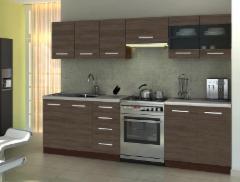 Virtuvės komplektas AMANDA 1-260 cm. Virtuvės baldų komplektai