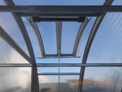 Stoglangis 700 x 930 x 6 mm (šiltnamiui GASPADORIUS) Šiltnamiai