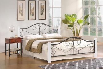 Miegamojo lova VIOLETTA 160 balta Gultas