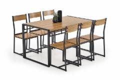 Stalas su 6 kėdėm BOLIVAR Kitchen tables