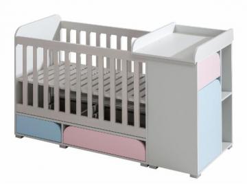 Kūdikio lovytė Mimo 5+4+6 Baldų kolekcija Mimo