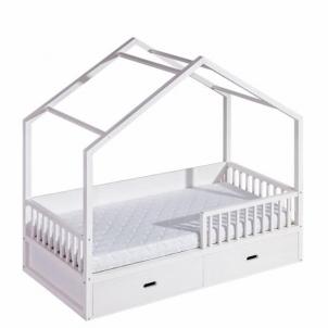 Vaikiška vienvietė lova Wiktor Vaikiškos lovos