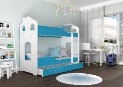 Vaikiška Dviaukštė Lova Dominik Domek 1808 Vaikiškos lovos