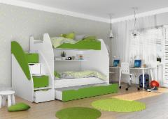 Vaikiška Double bed Bed Zuzia Children's beds