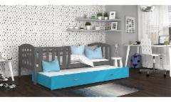Vaikiška Dvivietė Lova Kubus P2 200x80 Vaikiškos lovos
