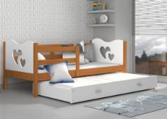 Vaikiška Dvivietė Lova Max P2 190x80 Vaikiškos lovos