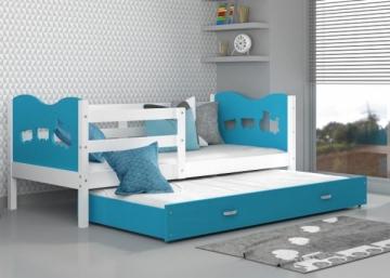 Vaikiška Dvivietė Lova Max P2 200x90 Vaikiškos lovos
