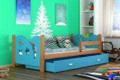 Vaikiška Lova Mikolaj 160x80 Vaikiškos lovos