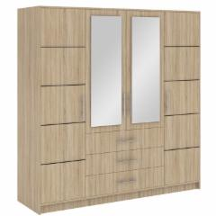 Spinta BALI D4 Guļamistabas skapji