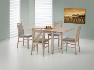 Valgomojo stalas Gracjan išskleidžiamas ąžuolas sonoma