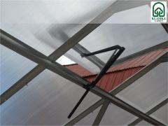 Automatinis šiltnamio stoglangio atidarytuvas.THERMOVENT