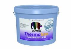 Silikoninis tinkas Thermosan Fassadenputz K15 NQG (DE), Caparol (balta bazė) 20 kg Dekoratyviniai tinkai