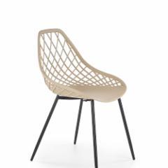 Valgomojo kėdė K330 smėlio Valgomojo kėdės