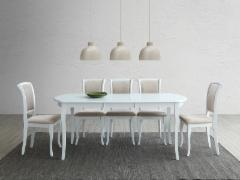 Valgomojo stalas išskleidžiamas Alicante 120x80(159)