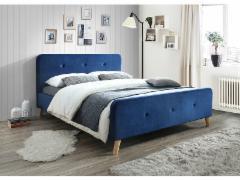 Miegamojo lova Malmo 160 aksomas Miegamojo lovos