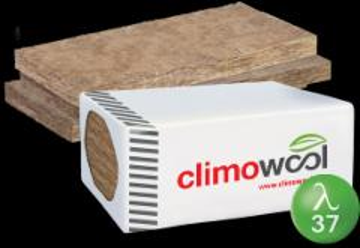 Vata plokštinė Knauf Climowool TW1-E 100x600x1250mm Koplietojamā statybinei izolācija