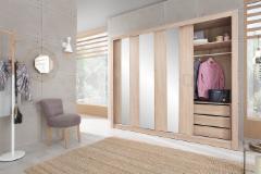 Cupboard DUCA I 250 Bedroom cabinets