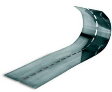 Knauf lankstus profilis kampų įrengimui 100mmx50 m Profiliai (GKP, glaistymo, tinkavimo)