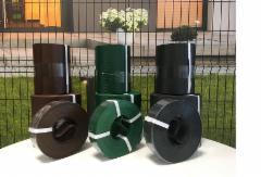 Juosta segmentinėms ir tinklinėms tvoroms 190 mm x 10,2 m Tvorų aksesuarai