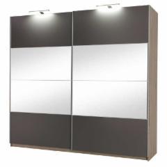Spinta DIONE su 4 veidrodžiai Miegamojo baldų kolekcija Dione