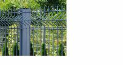Tvoros segmentas hot dipped galvanizeds 50x200x4x1730x2500 pilka Fence segments