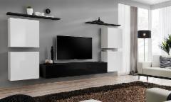 Sekcija Switch IV juoda/balta Sadaļa