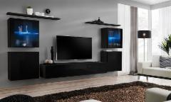 Sekcija Switch XIV juoda/balta Sekcijos