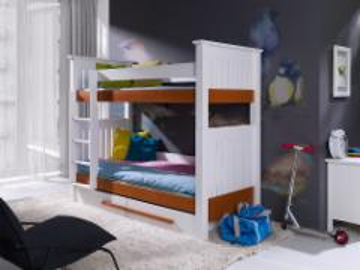 Dviaukštė lova CASIMIR Vaikiškos lovos