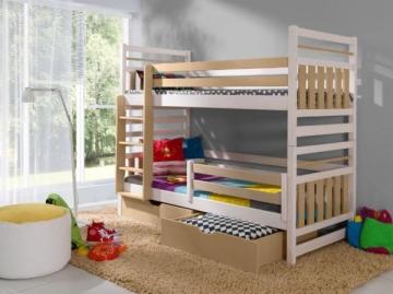Dviaukštė lova MIROMIR Vaikiškos lovos