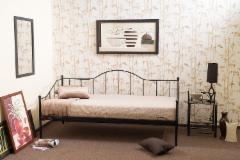 Miegamojo lova Dover 90 juoda Miegamojo lovos