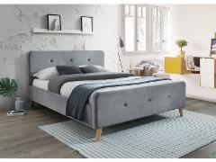 Miegamojo lova Malmo 160 pilka Спальни кровати
