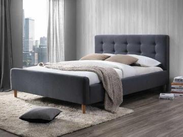 Miegamojo lova Pinko 160 pilka Спальни кровати