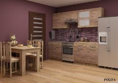 Virtuvės komplektas POLO 1 Virtuves mēbeļu komplekti