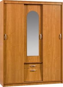 Spinta Aleksander 4 su veidrodžiu Спальня Шкафы