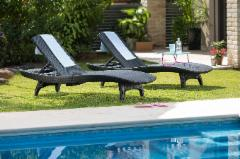 Gutas lauko PACIFIC SET WITH TABLE 7290106927308; 7290106927315 Outdoor lounge chairs