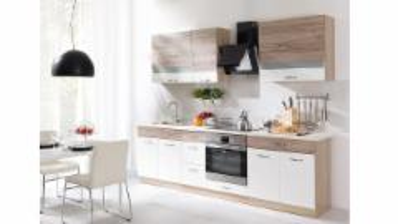 Virtuvės komplektas Econo C be stalviršio Virtuves mēbeļu komplekti
