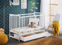 Vaikiška lovytė Cypi II Plus be čiužinio Vaikiškos lovos