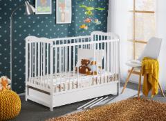 Vaikiška lovytė Ala II Plus su čiužiniu Bērnu gultas