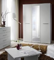 Miegamojo spinta BIG balta Guļamistabas skapji
