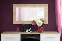 Veidrodis Vicky sonoma Mirrors with wooden frames