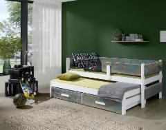 Vaikiška Dvivietė Lova SOLANO Vaikiškos lovos