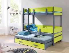 Vaikiška trivietė lova ETTORE III Vaikiškos lovos